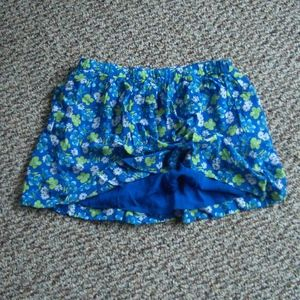 Abercrombie & Fitch blue floral mini skirt S